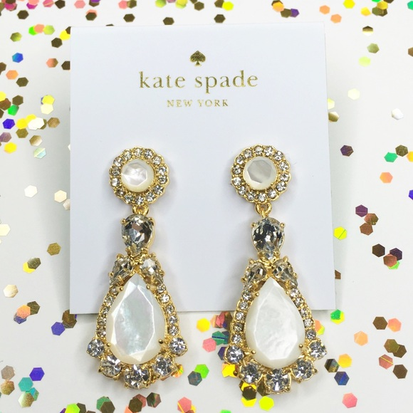 0ce330313233ba kate spade Jewelry | Nwt Butter Up Statement Earrings | Poshmark